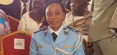 Côte d'Ivoire : Le commissaire divisionnaire Touré Mabonga désignée meilleur policier de l'année 2019