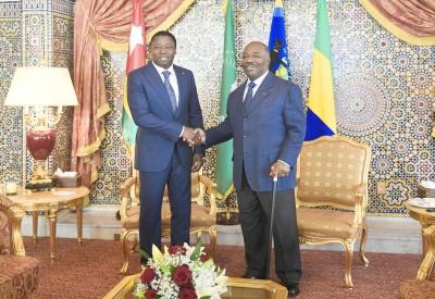 Gabon-Togo: Ali Bongo reçoit Faure Gnassingbé à Libreville