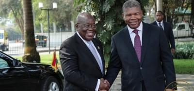 Ghana-Angola : Renforcement des relations bilatérales avec l'idée d'entraide sur le c...