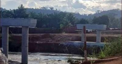 Côte d'Ivoire : Cavally, le pont reliant Zouan-Hounien et Blolequin est sorti de terre