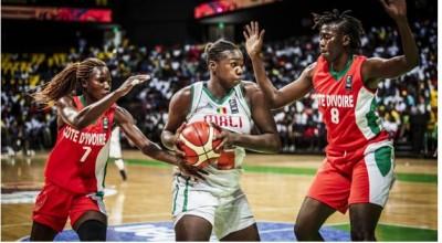 Côte d'Ivoire : Afrobasket 2019, les éléphantes éliminées par les maliennes en quart de finale