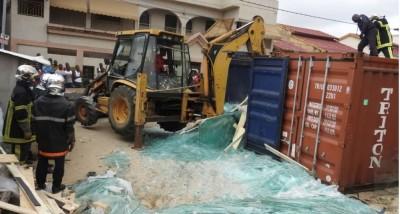 Côte d'Ivoire: Drame à Cocody, prit au piège, il meurt affreusement du fait de la mau...
