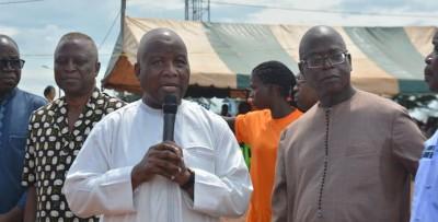 Côte d'Ivoire: A Guiglo des cadres FPI et RHDP se retrouvent pour évoquer la question...
