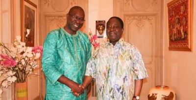 Côte d'Ivoire: Youssouf Diaby transmet un message officiel   de   Blé Goudé à  Bédié