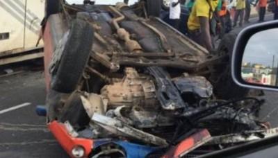 Côte d'Ivoire : Cinq personnes périssent dans un accident de la circulation