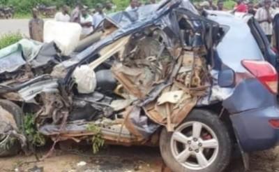 Côte d'Ivoire: 5 personnes décédées dans un accident, il s'agit des membres de la famille Doumbia, ils partaient accueillir leurs parents revenant de la Mecque
