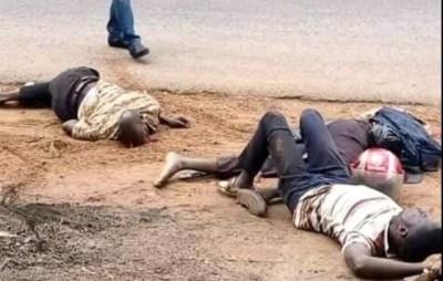 Côte d'Ivoire : Djébonoua, voulant faire un dépassement, un car tue deux personnes à...