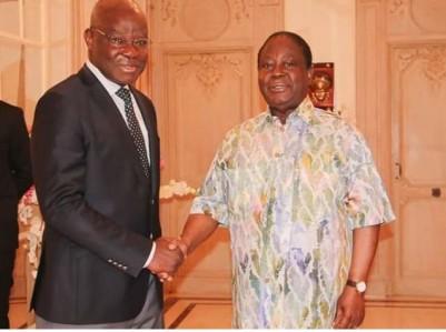 Côte d'Ivoire : L'ancien ministre Eric Kahé après une rencontre avec Bédié, « Les act...