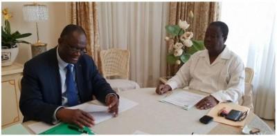 Côte d'Ivoire: La nouvelle plateforme de l'opposition au centre d'un entretien  entre Bédié et Guikahué à Paris, le PDCI s'y engage officiellement