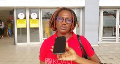 Côte d'Ivoire: CEI, Pulchérie Gbalet depuis l'aéroport appelle le peuple à se mobilis...