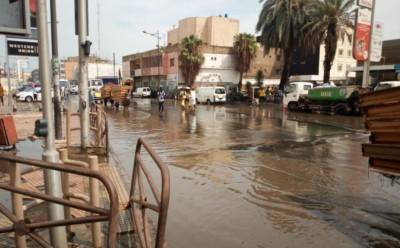 Sénégal: Premières fortes pluies sur la capitale sénégalaise, Dakar déjà sous les eau...