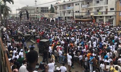 Côte d'Ivoire: Hommage à Arafat, impressionnante marche de plusieurs milliers de ses...