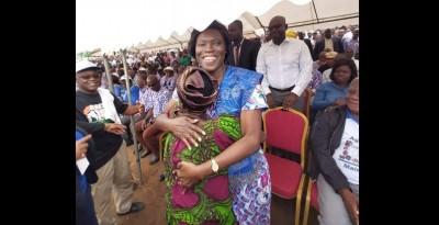 Côte d'Ivoire: Après sa libération, Simone Gbagbo annoncée pour la première fois au n...
