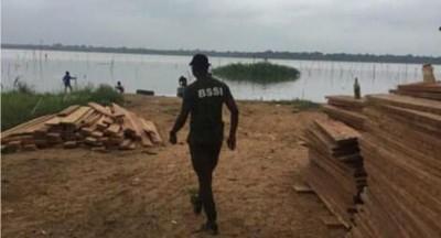 Côte d'Ivoire : Adjin, faute de moyens nautiques, environ 2000 planches saisies par l...