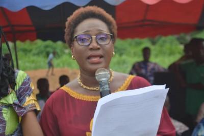 Côte d'Ivoire: Depuis Lakota, Pulchérie Gbalet appelle les femmes à ne pas rester en...