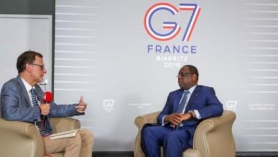 Sénégal : Macky Sall va encore en France pour parler des problèmes intérieurs du pays...