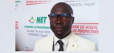 Togo:  Le NET positionne Gerry Taama pour la présidentielle 2020