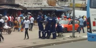 Côte d'Ivoire :   Boulevard Nangui Abrogoua, 400 mille FCFA de pertes de recettes par jour et 39 millions de FCFA versés aux 350 agents de la Police municipale