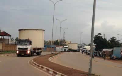Ghana-Burkina: Bolloré Transport & Logistics réussit le transport de 126 tonnes d'équipements miniers entre les deux pays