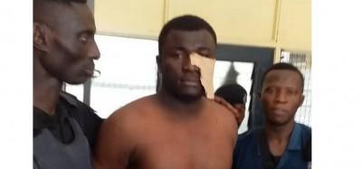 Ghana : Pisté, le présumé meurtrier des deux policiers arrêté dans la VR