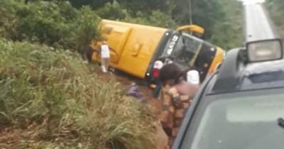 Côte d'Ivoire : Sortie de route d'un car CTE sur l'axe Yaffo-Abongoua, une femme tuée laissant derrière elle son bébé