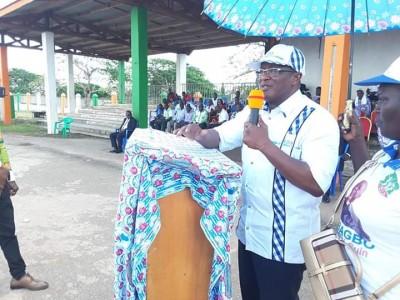 Côte d'Ivoire: Depuis Duekoué, Ouégnin dénonce une immigration incontrôlée encouragée par les tenants du pouvoir et martèle «le retour de Gbagbo est presqu'imminent, commencez à vous préparer»