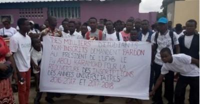 Côte d'Ivoire : Quel sort pour les 5000 étudiants menacés d'exclusion à l'Université de Cocody ?