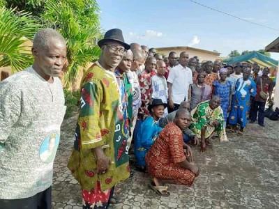 Côte d'Ivoire : Annoncés avoir adhéré au RHDP, 50 villages du Gbêkê réitèrent leur fidélité au PDCI