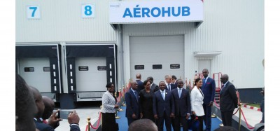 Côte d'Ivoire: Bolloré inaugure son premier AEROHUB sous-régional à Abidjan