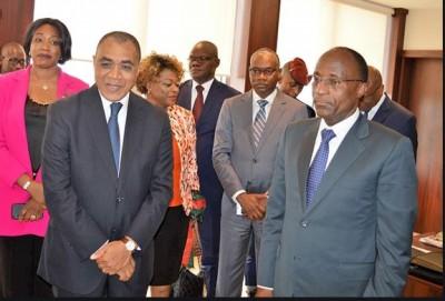 Côte d'Ivoire : Adama Coulibaly,  tout savoir sur le nouvel argentier du pays qui remplace son patron Adama Koné