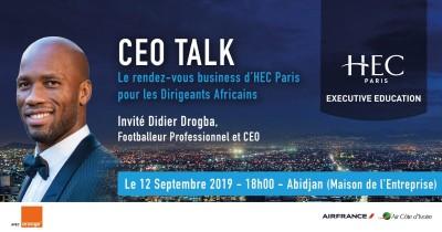 Côte d'Ivoire: HEC Paris reçoit Didier Drogba pour la 3ème édition de son CEO TALK à Abidjan