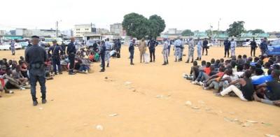 Côte d'Ivoire: A Yopougon, après l'assassinat du gendarme Tiékou, vaste opération de démantèlement des «gambros »