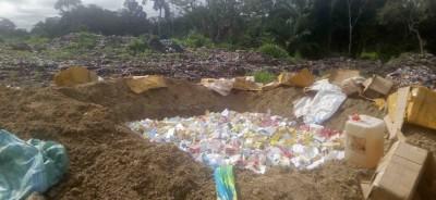 Côte d'Ivoire: A Man, d'une valeur de à 30 millions CFA, plus de 2 tonnes de médicaments,  prohibés saisis et incinérés, 2 suspects interpellés et relâchés pour insuffisance de preuves
