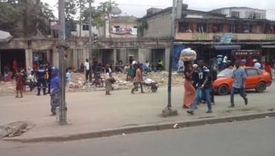 Côte d'Ivoire: Boulevard Nangui Abrogoua d'Adjamé, deux semaines après leur déguerpissement, des commerçants crient à la trahison