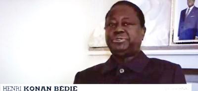 Côte d'Ivoire: 2020, limite d'âge, depuis Paris, Bédié «je crains que ce soit là un problème très grave pour la stabilité du pays»