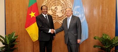 Cameroun: Le SG de l'ONU se réjouit de l'annonce du grand dialogue national