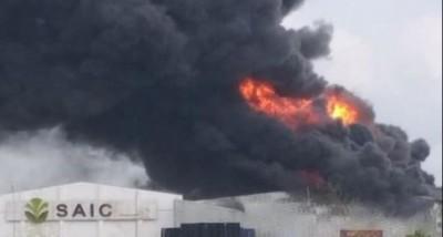 Côte d'Ivoire : Deux mois après l'incendie, l'usine SAIC d'Aniassué (Abengourou) va reprendre ses activités