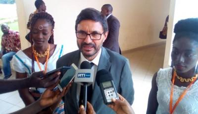 Côte d'Ivoire: Recevant l'ambassadeur d'Espagne à l'UAO de Bouaké,  Lazare Poamé se dit heureux des promesses faites