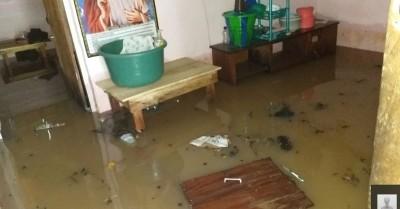 Côte d'Ivoire: A Man, des maisons inondées dans plusieurs quartiers suite à la montée des eaux, des dégâts importants