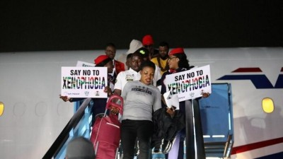 Nigeria-Afrique du Sud: 189 nigérians de retour au bercail suite aux violences xénoph...