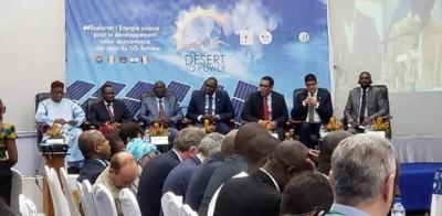 Burkina Faso: Les pays africains veulent maximiser l'exploitation de l'énergie solair...