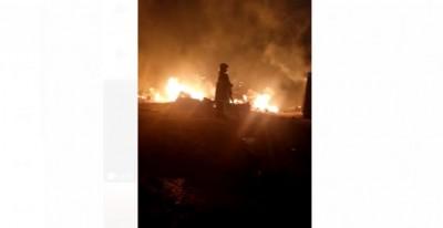 Côte d'Ivoire: A Cocody-Bonoumin, un incendie ravage plusieurs baraques, de nombreux...