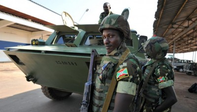 Somalie:   12 soldats burundais tués dans une embuscade des shebabs au nord de Mogadi...