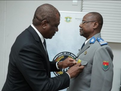 Côte d'Ivoire-Burkina: L'attaché de défense près de l'ambassade du Burkina en fin de...
