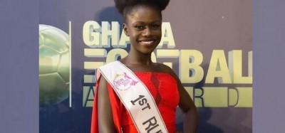 Ghana : Miss Ghana 2019, la 1ere dauphine jette sa couronne