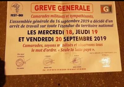 Côte d'Ivoire : Grève annoncée aux impôts, un syndicat se désolidarise et appelle ses membres  à rester à leurs postes
