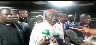 Cameroun: Grand dialogue national, en vedette le cardinal Tumi remet un mémorandum de 400 pages au PM