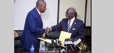 Côte d'Ivoire-Ghana: Abidjan et Accra définissent une carte de délimitation de leur frontière maritime commune dans l'océan atlantique