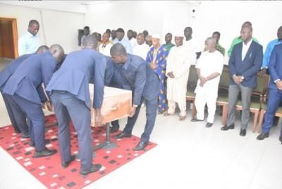 Côte d'Ivoire : Le corps du footballeur Diomandé Mé décédé tragiquement en Inde, rapatrié à Abidjan