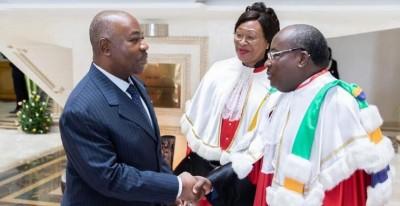 Gabon: De retour de Londres, Ali Bongo  préside la rentrée de la cour constitutionnelle